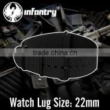 Infantry 2015 Strong Black 22mm Nylon Watch Straps