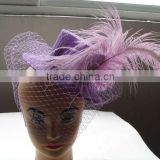 Ladies Party Evening Cocktail Fascinator Flower Feather Brooch Pin Hair Clip New