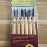 Wood Carving Knives Chisel Set 6 Piece set chisel wood chisel