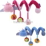 Baby Bed Hanging Toy/Baby Bed Crib Pram Cartoon Animal Detachable Hanging Bell Plush Toy