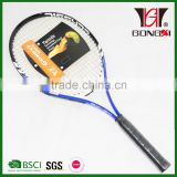 GX-511 blue good quality aluminium alloy tennis rackets with custom tennis racket grips/gifts trade
