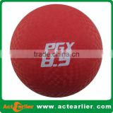 cheap promotional custom logo rubber playground balls