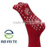2015 best selling new product self-heated 4 colors warm cotton Tourmaline massage socks Image