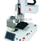 1600 Desktop creamwhite high precision automatic screw locking machine for electrical product assembly