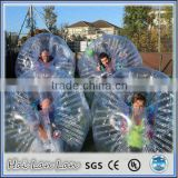 Inflatable Toy Style and PVC/TPU Material Colorful Stripes Soccer Bubble/Bubble Football
