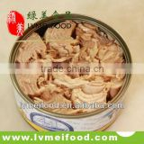 canned tuna chunk in oil