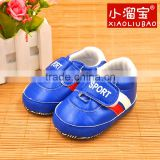2016 Wholesale Leather Baby Sport Hot design high quality lovely genuine leather toddler baby sports shoes