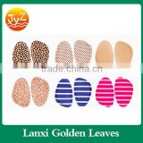 Comfortable foot care soft silicon GEL insole shoe pad for laies back heel pad and forefoot pad Suede