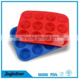 Eco-friendly feature custom silicone christmas decorative soap molds for soap