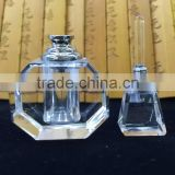 Natural baby blue crystal perfume bottle for sale