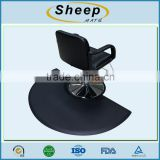 High Quality Anti-fatigue Circle PU Salon Chair Mats for Barber