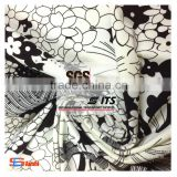 ES6142 single jersey circular knitting machine fabric dty polyester fabric with printed