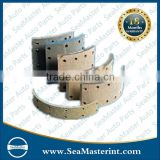 High quality non-asbestos brake lining for HINO OEM No.2307-364400H