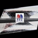 Double Sided PET Film with Fiberglass Scrim and non woven fabric insulation