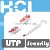 Taiwan Manufacturer Slide-on Type Security Boot Lock with Removal Key For RJ45 Modular Plug