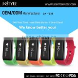Original J-style 1638 sport wristband Bluetooth 4.0 smart heart rate monitor watch with blood pressure monitors