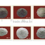 Induction furnace refractory lining SiO2 MgO Al2O3 refractory ready mix concrete for crucible liner