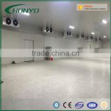 Large Capacity The Pu Panels Modular Walk In Cold Storage Room For Meat Fish Vegetable Fruit