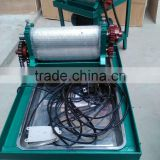 Inquiry about Automatic eletric septum machine/beeswax foundation machine
