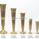 sets of metal wedding trumpet