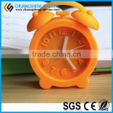 Candy color various shape kids favourite alarm clock, table watch,promotional gift clock