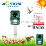 Aosion Ultrasonic Solar Birds Repeller Animals Repeller Solar Powered with Flashing LED Lights