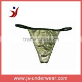 from factory accept oem golden printed lady panty