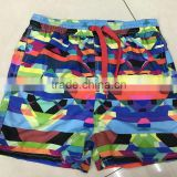 Garment stock lot kid's fashion comfortable bermuda sport shorts