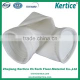 Anti - High Temperature Chemical Resistant High Filtration Efficiency Pure PTFE Air Filter Bag with or without PTFE membrane