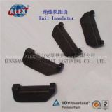 Rail Insulator Shanghai Supplier, Manufacturer Rail Insulator, Plastic Material Rail Insulator