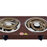 High-powered Coil Hot Plates With Two Die-cast Heating Elements For Fast Cooking