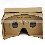 DIY 3D VR Virtual Reality Cardboard Glasses for Google Android iPhone Headset VR031
