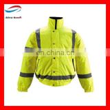 winter uniform best quality uniforms/ reflective warning safety coat