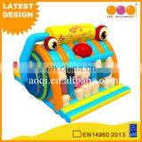 2017 hot sell new design inflatable toys games radio indoor bouncers kids bouncer for sale
