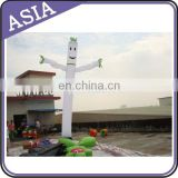 Hot Selling Inflatable Wave Man In 6mH With Single Leg