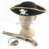plastic pirate hat,pirate gun toy