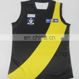 Custome made digital print 100% polyester alf jersey Afl uniform