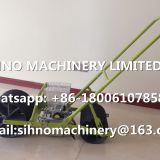 2 Rows Agricultural Tool farm Hand Push Vegetable seeds Planter +86-18006107858