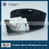Metal Belt Buckle Belt Accessories With Embossed Pattern Logo