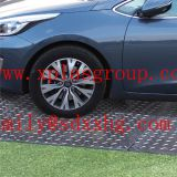 PE plastic road plates/plastic road panel/temporary road parkway