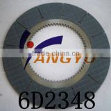 Friction clutch material clutch disc plate 6D2348