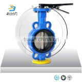 High Quality China Supplier DN150 EPDM Seat Manual Wafer End Type or Flange type Butterfly Valve