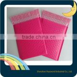 guangdong china pink Poly Bubble Material EMS poly bubble mailer plastic bubble mailer