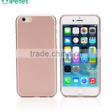 Hot selling Products rose gold color painted back cover for iphone 6 case hard