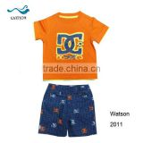 Famous brand casual kids summer clothing sets baby clothes set                                                                                         Most Popular