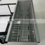 GS certificated Hanging Balcony design bbq Grill for barbecue