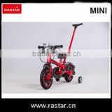 Beautiful cool red 12 inch 4 wheel mini used kids bicycle for kids