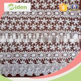 Water soluble daisy patterns lace fabric for curtains or hometextile                                                                                                         Supplier's Choice