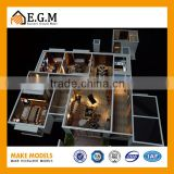 3D Architectural Rendering Scale Models Plastic Material