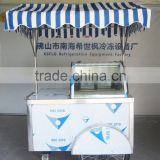 Australia Manual Push Ice Cream Selling Cart